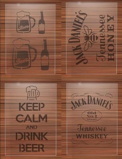 stencil-bebidas