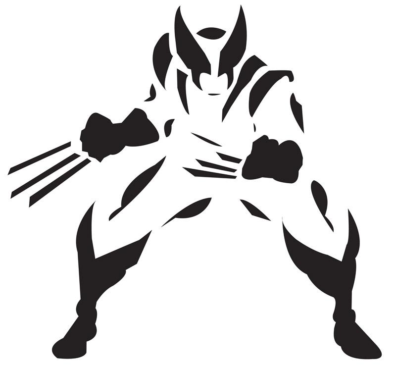 Wolverine Stencil A4 15cm Ou 10cm Submoda