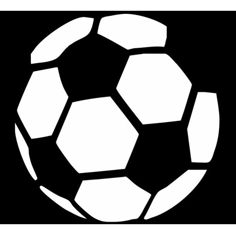 bd4828bde9893a Bola Futebol -Stencil A4, 15cm, 10cm - Submoda