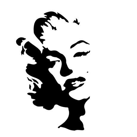 marilyn monroe-estencil