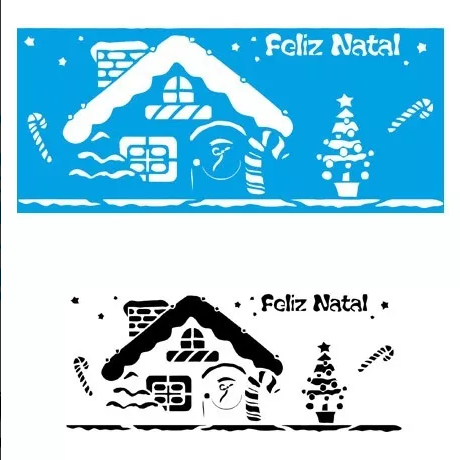 natal-papai noel-estencio