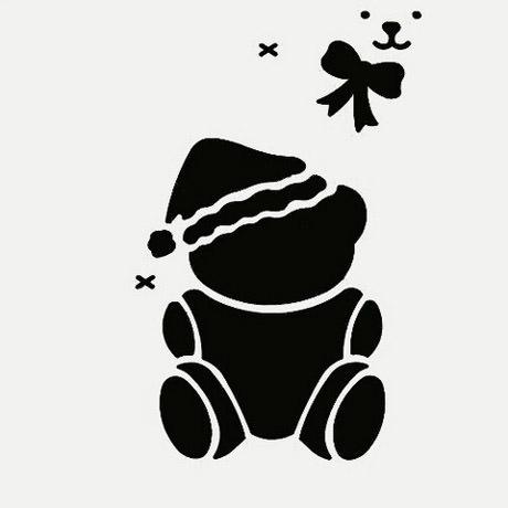 urso-natal-stencil