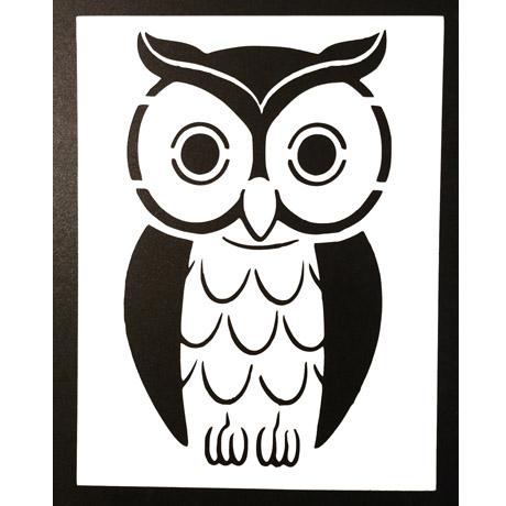 coruja-stencil