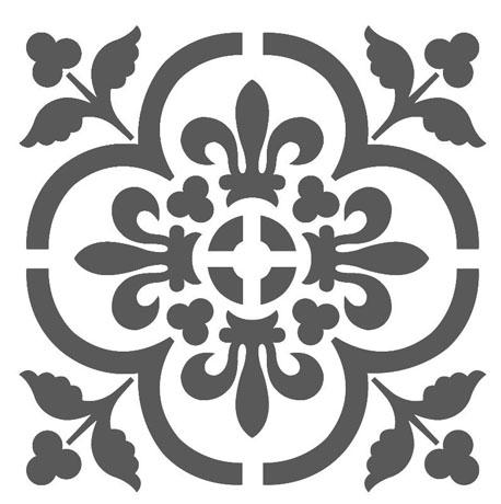 Mandala P Flor Stencil A4 Submoda