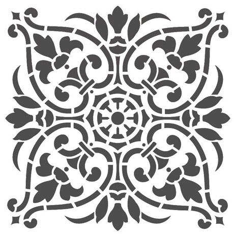 stencil-de-mandala