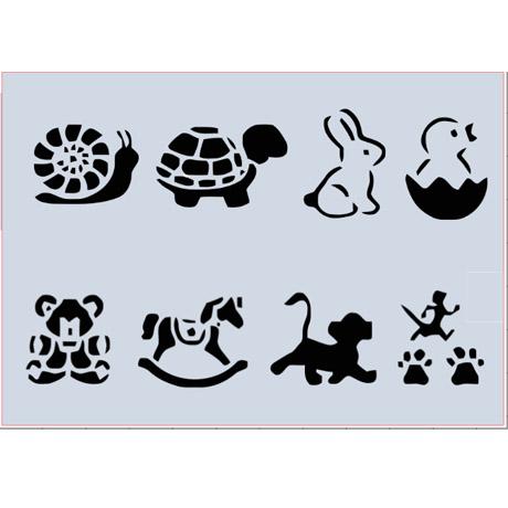 bichos-stencil-molde