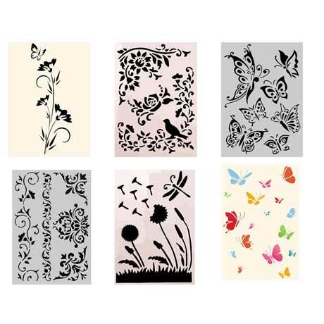 flores-borboletas-stencil2