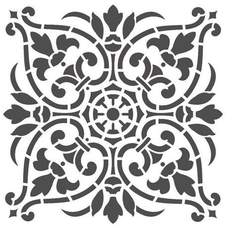 mandala-estencil